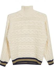Вязаный свитер с манжетами Gucci