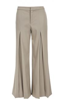 Широкие шерстяные брюки со складками Ralph Lauren