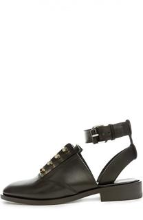 Ботинки с ремешком на щиколотке Balenciaga