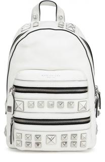Кожаный рюкзак Recruit с металлическими шипами Marc Jacobs