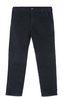 Хлопковые брюки прямого кроя Dal Lago
