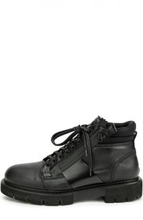 Высокие кожаные ботинки O.X.S.