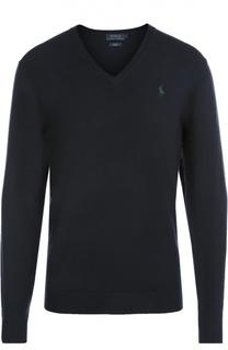 Пуловер из шерсти тонкой вязки Polo Ralph Lauren