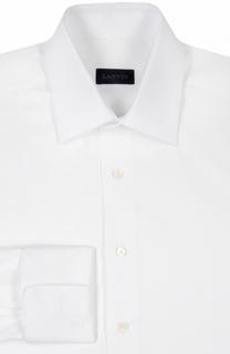 Хлопковая сорочка с манжетами под запонки Lanvin