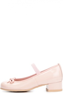 Лаковые туфли с бантом Pretty Ballerinas