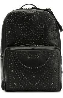 Кожаный рюкзак с заклепками Valentino