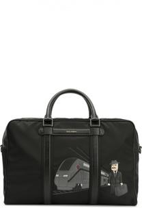 Дорожная сумка Sicilian Man с плечевым ремнем Dolce & Gabbana