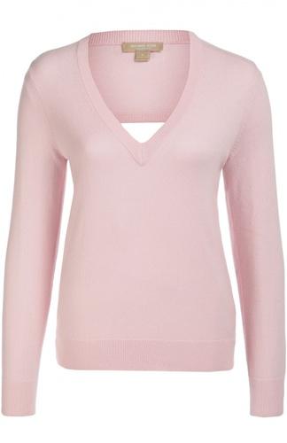 Кашемировый пуловер с открытой спиной Michael Kors