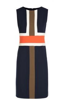 Платье футляр без рукавов с геометрическим принтом Diane Von Furstenberg