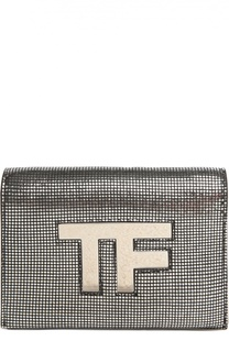 Металлизированная сумка Icon на цепочке Tom Ford