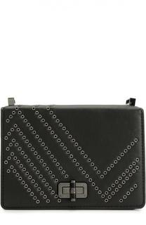 Кожаная сумка Les Crossbody с металлическими заклепками Diane Von Furstenberg