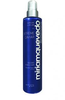 Оживляющий спрей для волос с протеинами шелка и экстрактом черной икры Miriamquevedo