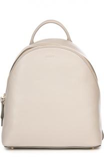 Кожаный рюкзак DKNY