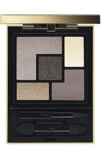 Палетка теней для век Couture Palette 13 Golden Glow YSL