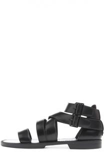 Кожаные сандалии с ремешками Belstaff