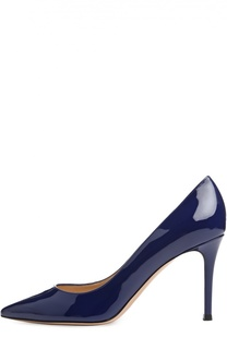 Лаковые туфли Gianvito 85 на шпильке Gianvito Rossi