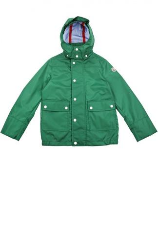 Непромокаемая куртка с капюшоном Moncler Enfant