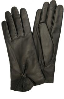 Кожаные перчатки с декором Sermoneta Gloves