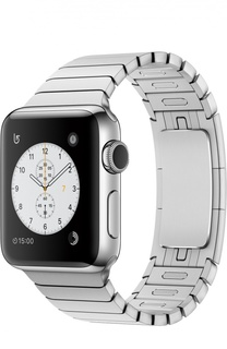 Apple Watch Series 2 38mm Silver Stainless Steel Case with Link Bracelet Apple