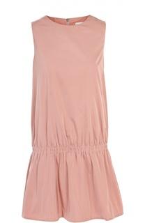 Мини-платье с низкой талией Moncler