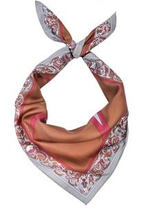 Шелковый платок с принтом Emilio Pucci