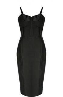 Приталенное платье на бретельках Michael Kors