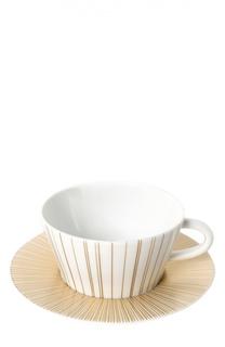 Чайная чашка с блюдцем Sol Bernardaud
