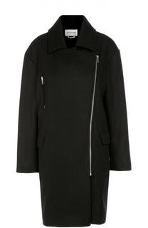 Пальто прямого кроя с косой молнией Isabel Marant Etoile
