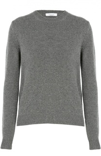 Кашемировый пуловер с круглым вырезом и заклепками Valentino
