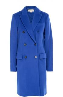 Двубортное пальто прямого кроя с карманами Michael Michael Kors