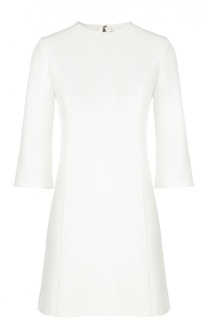 Приталенное мини-платье с укороченным рукавом Alice + Olivia