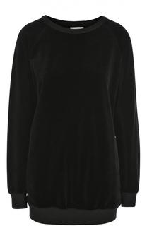Бархатный пуловер свободного кроя Chloé