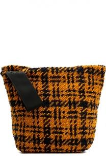 Вязаный клатч Bundle из шерсти Marni