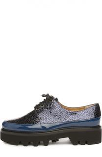 Лаковые ботинки Dingo с тиснением Walter Steiger