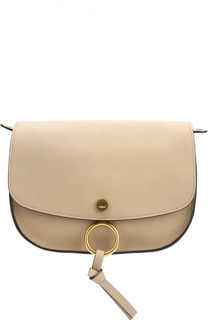 Кожаная сумка Mini Kurtis Chloé