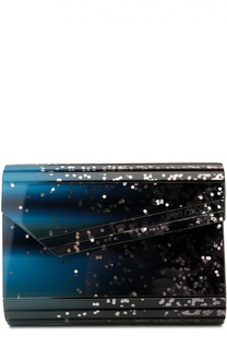 Клатч Candy Navy Starlight Dégradé Jimmy Choo
