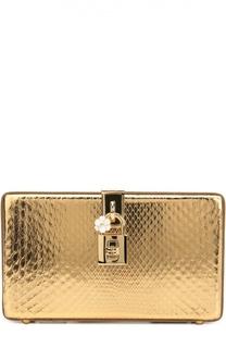 7e73c9b803d3 Купить Золотистые женские клатчи Dolce & Gabbana в интернет-магазине ...