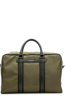 Дорожная сумка Mediterraneo с отделкой из натуральной кожи Dolce & Gabbana