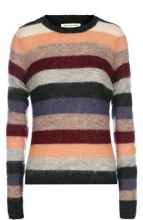 Пуловер в контрастную полоску с круглым вырезом Isabel Marant Etoile