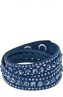Браслет Slake Dot Dark Blue Swarovski