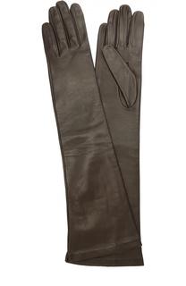 Длинные кожаные перчатки Sermoneta Gloves