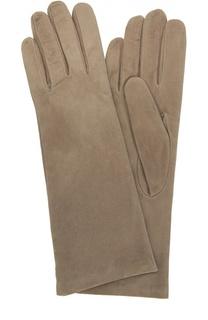 Замшевые перчатки с подкладкой из кашемира Sermoneta Gloves