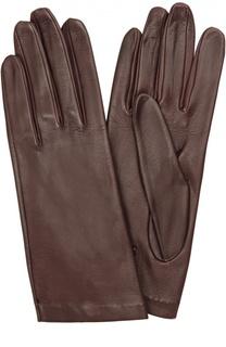 Кожаные перчатки с подкладкой из шелка Sermoneta Gloves