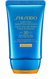 Солнцезащитный антивозрастной крем Expert Sun SPF30 Shiseido