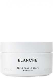 Крем для тела Blanche Byredo