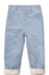 Хлопковые брюки с отворотами Tartine Et Chocolat