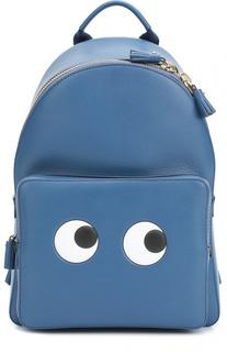 Кожаный рюкзак Eyes Mini Anya Hindmarch