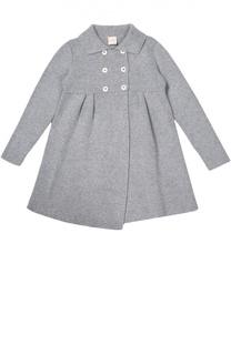 Вязаное двубортное пальто Kuxo Cashmere