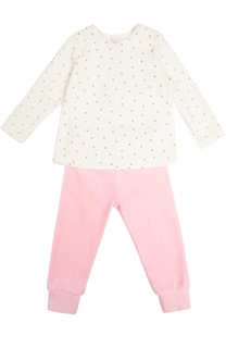 Хлопковая пижама с отделкой в виде звезд Sanetta
