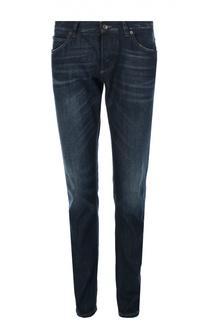 Зауженные джинсы с потертостями Dolce & Gabbana